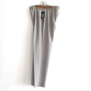 NWT ALIA Grey Dress Pants Size 14